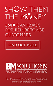 £500 cashback offer for remortgage customers. Find out more.