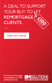 A deal to support your Buy To Let remortgage clients. Find out more.